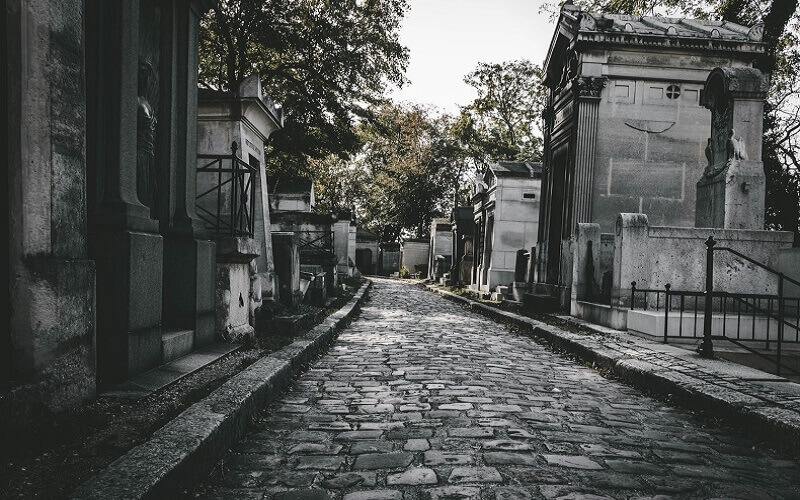 toussaint paryskie cmentarze