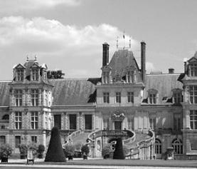 Atrakcje Île-de-France: pałac Fontainebleau