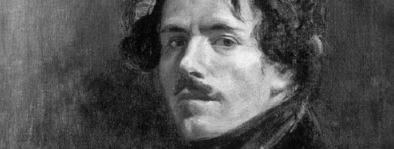 Znane postacie: malarz Eugène Delacroix