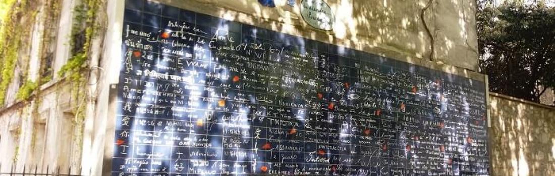 Le Mur des je t'aime – ściana miłości na Montmartre