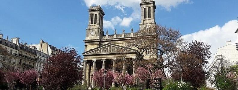Église Saint-Vincent-de-Paul – neorenesansowy kościół w Paryżu