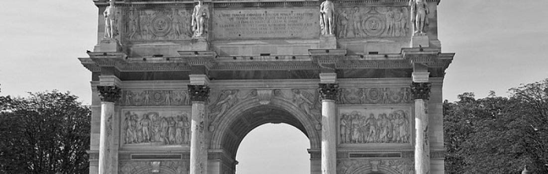Arc du Carrousel w Paryżu