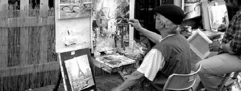 Artyści w Paryżu – artystyczna strona miasta