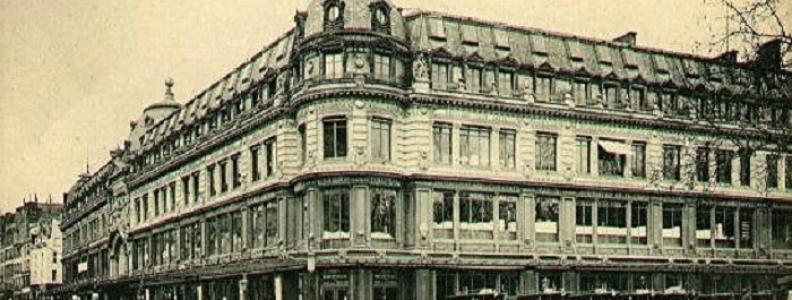 Domy towarowe w Paryżu: historia