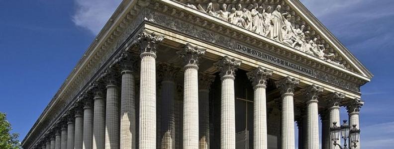 Église de la Madeleine: słynny kościół w Paryżu