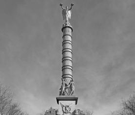 Fontaine de la Victoire na placu Châtelet w Paryżu