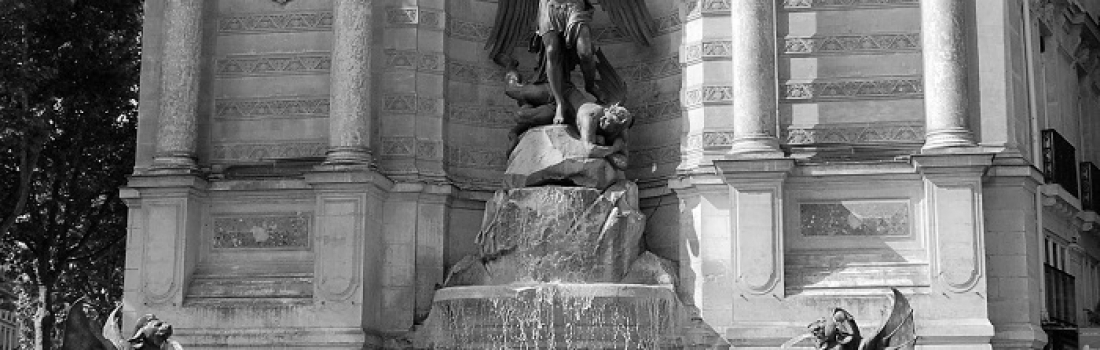 Fontaine Saint-Michel w Paryżu