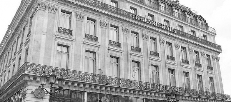 Le Grand Hôtel – słynne miejsce w Paryżu