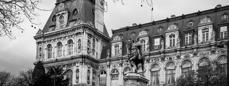 Hôtel de Ville – czwarta dzielnica Paryża