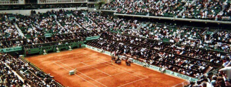 French Open na kortach Rolanda Garrosa