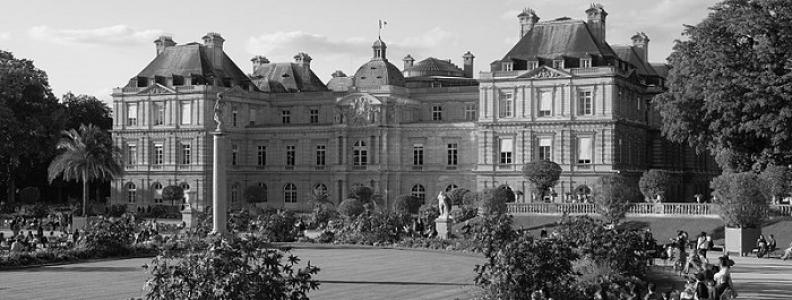 Pałac Luksemburski i Ogród Luksemburski w Paryżu