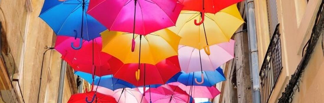 Umbrella Sky w Paryżu