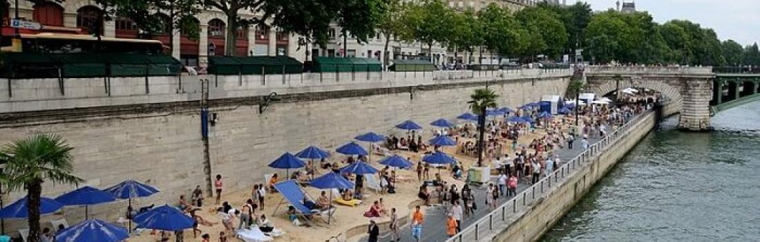 Paris Plages 2019: plaża w Paryżu
