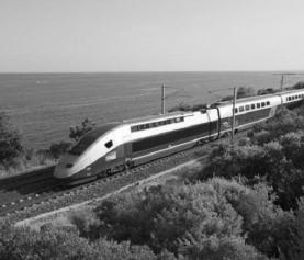 Pociągi TGV, czyli kolej dużej prędkości we Francji