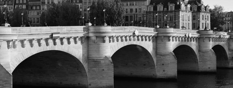 Najstarszy most w Paryżu: Pont Neuf