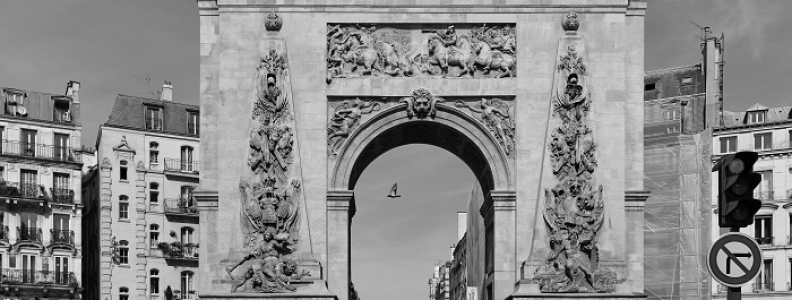 Porte Saint-Denis i Porte Saint-Martin – znane bramy Paryża