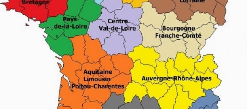 Podział administracyjny Francji