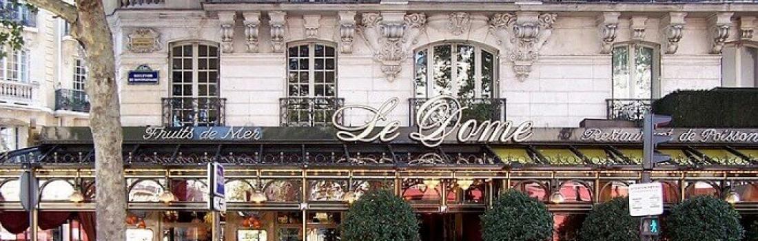 Restauracja Café du Dôme w Paryżu