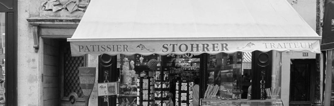 Pâtisserie Stohrer – najstarsza cukiernia w Paryżu