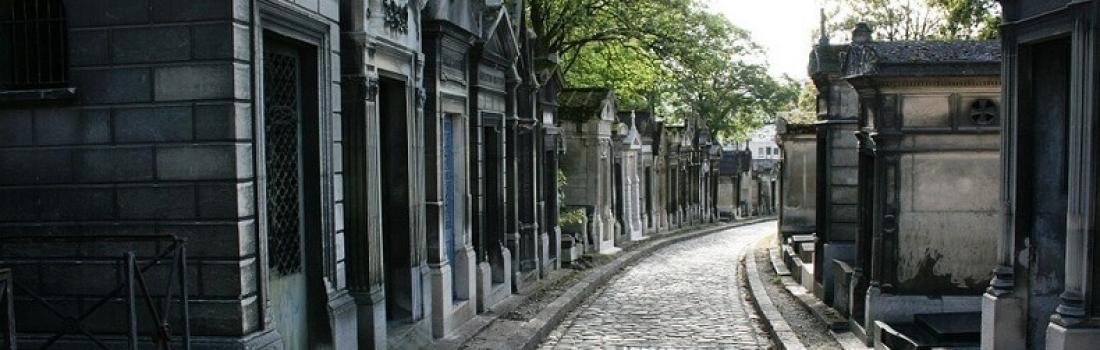 Znane cmentarze w Paryżu