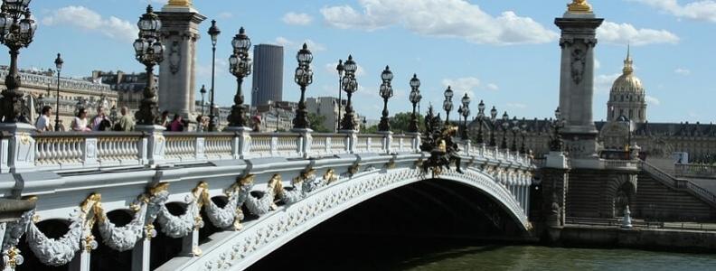 Top 5 mostów w Paryżu