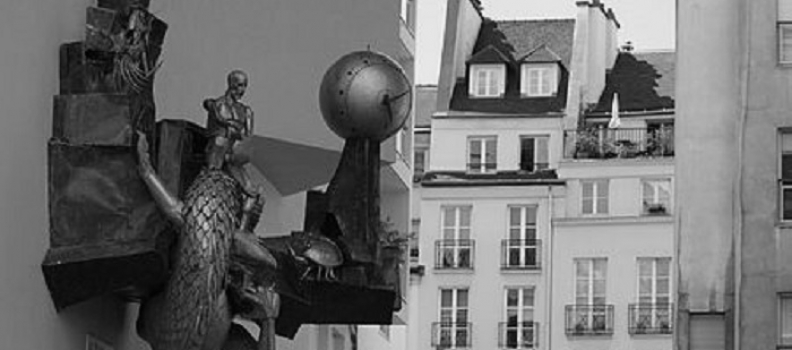 Quartier de l'Horloge i Le Défenseur du temps